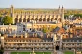 Aerial view of Cambridge's Colleges — Stockfoto