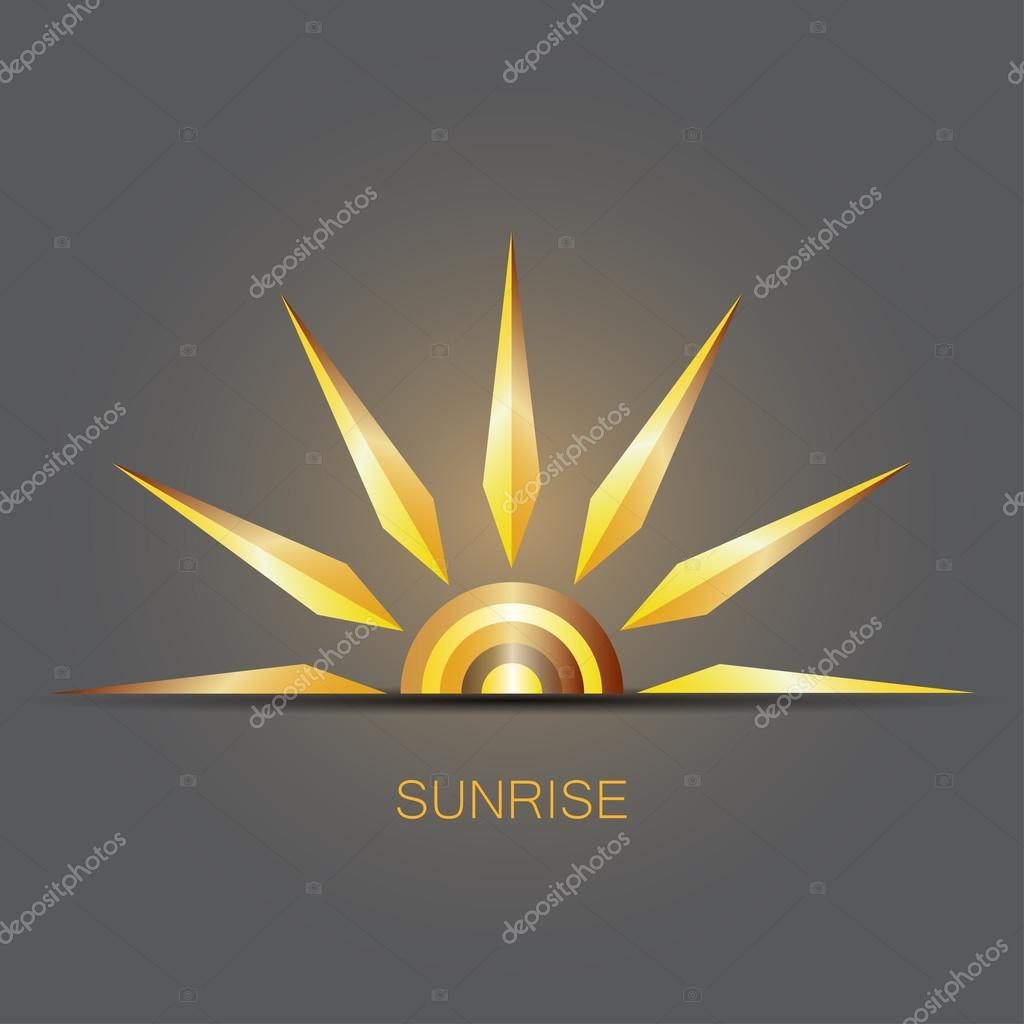 sun logo design template � stock vector 94979082
