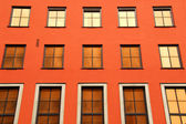 Window frame exterior — Stockfoto