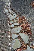 Stone walkway — Stok fotoğraf