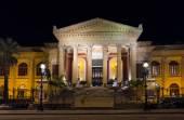 Massimo theater Palermo — Stock Photo