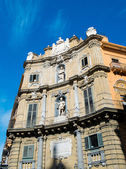 Palermo Quattro Canti — Stock Photo