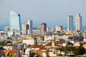 Milan skyline — Stock Photo
