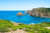 Sea promontory — Stock Photo