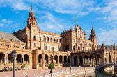 Plaza de espana — Stock Photo