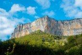 Rock walls in Vercors — Stock Photo