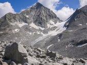 Hoge bergen in Valle Aurina — Stockfoto