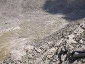 氷河モレーン — ストック写真