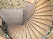 Escalera de caracol de metal — Foto de Stock