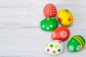 Easter eggs. Easter decoration — Stock fotografie