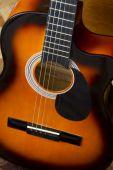 Acoustic guitar. — Stockfoto