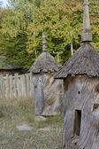 Two bee hive 19th century. — Stock Photo