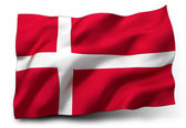 Flag of Danemark — Stock Photo