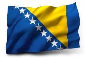Flag of Bosnia and Herzegovina — Stock Photo
