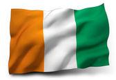 Flag of Ivory Coast — Stock Photo