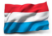 Flag of Luxembourg — Stock Photo