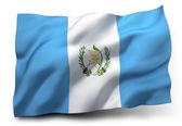 Flag of Guatemala — Stock Photo