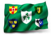 Flag of IRFU — Stock Photo