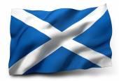 Vlag van Schotland — Stockfoto