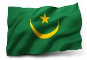 Flag of Mauritania — Stock Photo