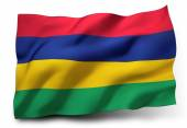 Flag of Mauritius — Stock Photo