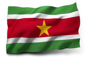 Flag of Suriname — Stock Photo