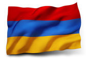 Flag of Armenia — Stock Photo