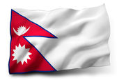 Flag of Nepal — Stock Photo