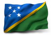 Flag of Solomon Islands — Stock Photo
