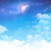 Cloudscape fantasy — Stock Photo