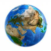 Planet Earth landforms — Stock Photo