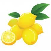 Limonlar — Stok Vektör