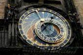 Astronomical clock Orloj — Stock Photo