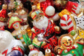Vintage christmas decorations — Foto Stock
