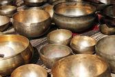 Singing tibet bowl - cup of life — Stock Photo