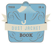Book Style and Type Label: Dust Jacket Book — Stock Vector