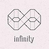 Geometrical infinity. — Stockvektor