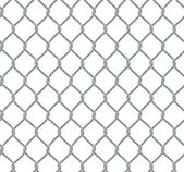 Seamless Chain Fence — Stock Vector