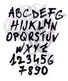 каракули набор полный алфавит — Cтоковый вектор
