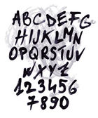 Doodle komplett alfabetet set — Stockvektor