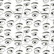 Seamless Pattern with Eyes — Stock Vector #64991337