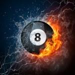 Pool Billiards Ball — Stock Photo #61806477
