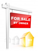 For Sale by Owner — Stock Photo