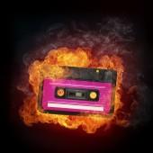 Audio Cassette — Stock Photo