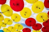 Multi-colored umbrellas — Stock Photo