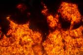 Wall of fire — Stock Photo
