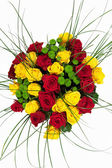 Bouquets of flowers — Stock Photo