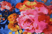 Textiles rose — Stok fotoğraf