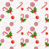 Pattern with Christmas — Stok Vektör