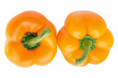 Two bell peppers — Stock Photo